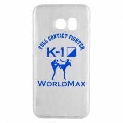 Чехол для Samsung S6 EDGE Full contact fighter K-1 Worldmax - FatLine