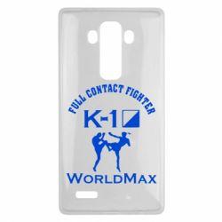 Чехол для LG G4 Full contact fighter K-1 Worldmax - FatLine