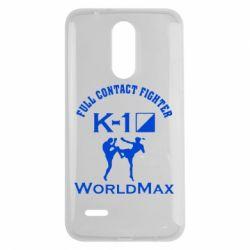 Чехол для LG K7 2017 Full contact fighter K-1 Worldmax - FatLine