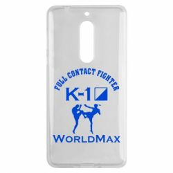 Чехол для Nokia 5 Full contact fighter K-1 Worldmax - FatLine
