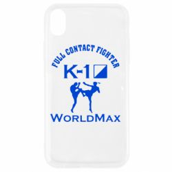 Чехол для iPhone XR Full contact fighter K-1 Worldmax - FatLine