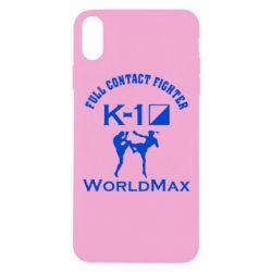 Чехол для iPhone Xs Max Full contact fighter K-1 Worldmax - FatLine