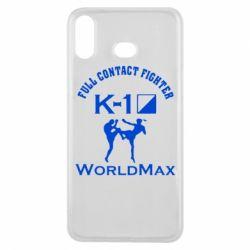 Чехол для Samsung A6s Full contact fighter K-1 Worldmax - FatLine