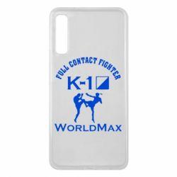 Чехол для Samsung A7 2018 Full contact fighter K-1 Worldmax - FatLine