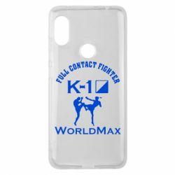 Чехол для Xiaomi Redmi Note 6 Pro Full contact fighter K-1 Worldmax - FatLine