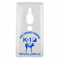 Чехол для Sony Xperia XZ2 Premium Full contact fighter K-1 Worldmax - FatLine