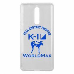 Чехол для Nokia 8 Full contact fighter K-1 Worldmax - FatLine