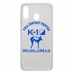 Чохол для Samsung A30 Full contact fighter K-1 Worldmax