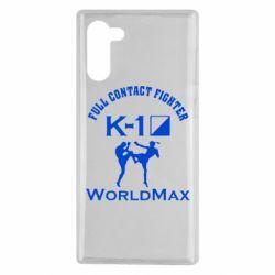 Чохол для Samsung Note 10 Full contact fighter K-1 Worldmax