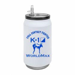 Термобанка 350ml Full contact fighter K-1 Worldmax