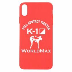 Чехол для iPhone X Full contact fighter K-1 Worldmax - FatLine