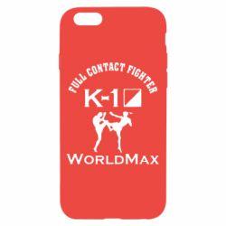 Чехол для iPhone 6/6S Full contact fighter K-1 Worldmax - FatLine