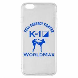 Чехол для iPhone 6 Plus/6S Plus Full contact fighter K-1 Worldmax - FatLine