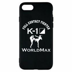 Чехол для iPhone 7 Full contact fighter K-1 Worldmax - FatLine