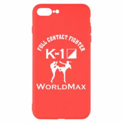 Чехол для iPhone 7 Plus Full contact fighter K-1 Worldmax - FatLine