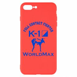 Чехол для iPhone 8 Plus Full contact fighter K-1 Worldmax - FatLine