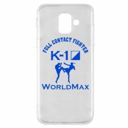 Чехол для Samsung A6 2018 Full contact fighter K-1 Worldmax - FatLine