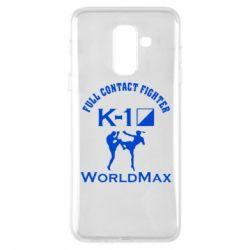 Чехол для Samsung A6+ 2018 Full contact fighter K-1 Worldmax - FatLine
