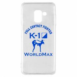 Чехол для Samsung A8 2018 Full contact fighter K-1 Worldmax - FatLine