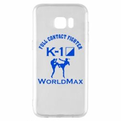 Чехол для Samsung S7 EDGE Full contact fighter K-1 Worldmax - FatLine