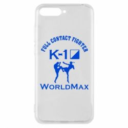 Чехол для Huawei Y6 2018 Full contact fighter K-1 Worldmax - FatLine