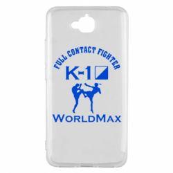 Чехол для Huawei Y6 Pro Full contact fighter K-1 Worldmax - FatLine
