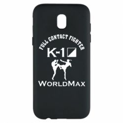 Чехол для Samsung J5 2017 Full contact fighter K-1 Worldmax - FatLine