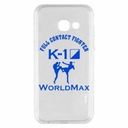 Чехол для Samsung A3 2017 Full contact fighter K-1 Worldmax - FatLine
