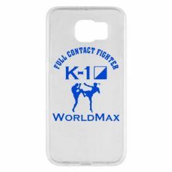Чехол для Samsung S6 Full contact fighter K-1 Worldmax - FatLine