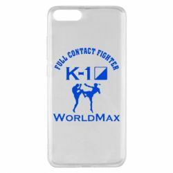 Чехол для Xiaomi Mi Note 3 Full contact fighter K-1 Worldmax - FatLine
