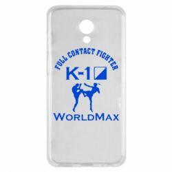 Чехол для Meizu M6s Full contact fighter K-1 Worldmax - FatLine