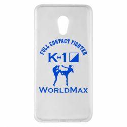 Чехол для Meizu Pro 6 Plus Full contact fighter K-1 Worldmax - FatLine