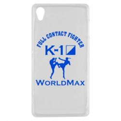 Чехол для Sony Xperia Z3 Full contact fighter K-1 Worldmax - FatLine