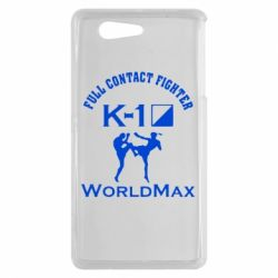 Чехол для Sony Xperia Z3 mini Full contact fighter K-1 Worldmax - FatLine