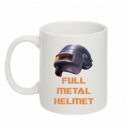 Купить Кружка 320ml Full metal helmet, FatLine