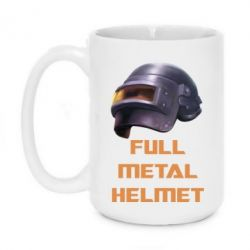 Купить Кружка 420ml Full metal helmet, FatLine