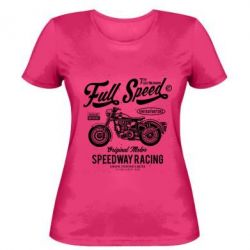 Жіноча футболка Full Speed