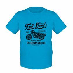 Дитяча футболка Full Speed