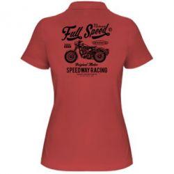 Жіноча футболка поло Full Speed