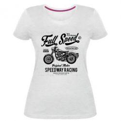 Жіноча стрейчева футболка Full Speed