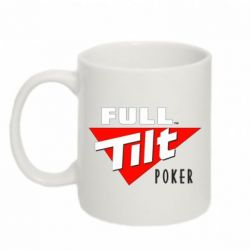 Кружка 320ml Full Tilt Poker - FatLine