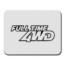 Килимок для миші Full time 4wd - FatLine