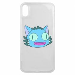 Чехол для iPhone Xs Max Funny cat from Rick and Morty season 4
