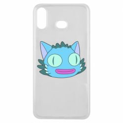 Чехол для Samsung A6s Funny cat from Rick and Morty season 4