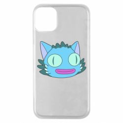 Чехол для iPhone 11 Pro Funny cat from Rick and Morty season 4