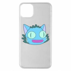 Чехол для iPhone 11 Pro Max Funny cat from Rick and Morty season 4