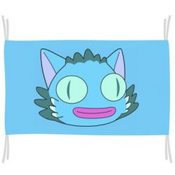 Флаг Funny cat from Rick and Morty season 4