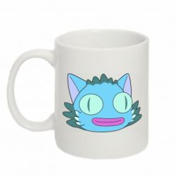 Кружка 320ml Funny cat from Rick and Morty season 4