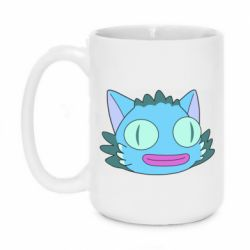 Кружка 420ml Funny cat from Rick and Morty season 4