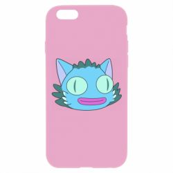 Чехол для iPhone 6 Plus/6S Plus Funny cat from Rick and Morty season 4